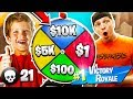 11 YEAR OLD KID WINS $10,000 IN FORTNITE? 1 KILL = 1 SPIN!