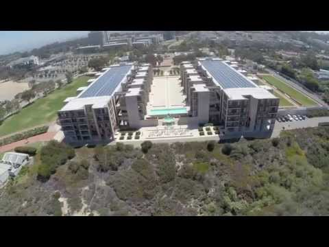 Salk Institute Drone Fly Thru (Part 1) Please watch in HD