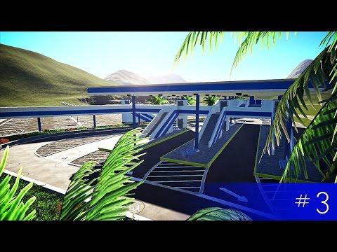 Planet Coaster: A New Park (S2 E03) - Transportation Hub