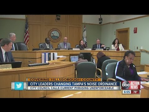 Noise ordinance violations could soon be left up to a police officer's ear