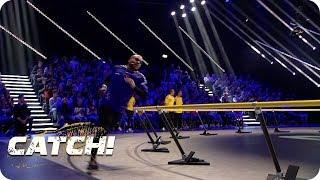 Finale! Odonkor und Hambüchen kämpfen um den Titel - CATCH! Die Deutsche Meisterschaft im Fangen