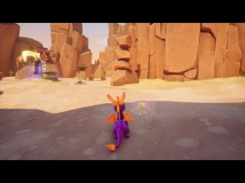 Spyro The Dragon Reignited Trilogy 100% Friedensstifter