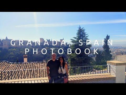 Granada, Spain: Travel Photobook