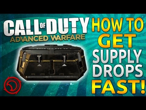 How to Get Supply Drops FAST in Call of Duty: Advanced Warfare! (COD: AW Tips and Tricks)