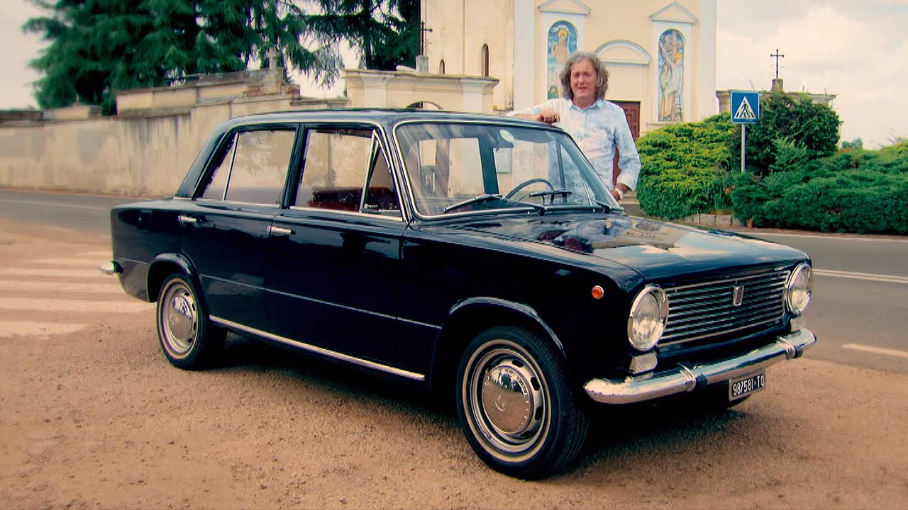 Fiat 124 the conventional italian car james may s cars of the people bbc brit
