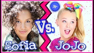 Andi Mack! Sofia Wylie VS JoJo Siwa Musical.ly Dance Battle 💙 Famous Girls Dance Musicallys 💃