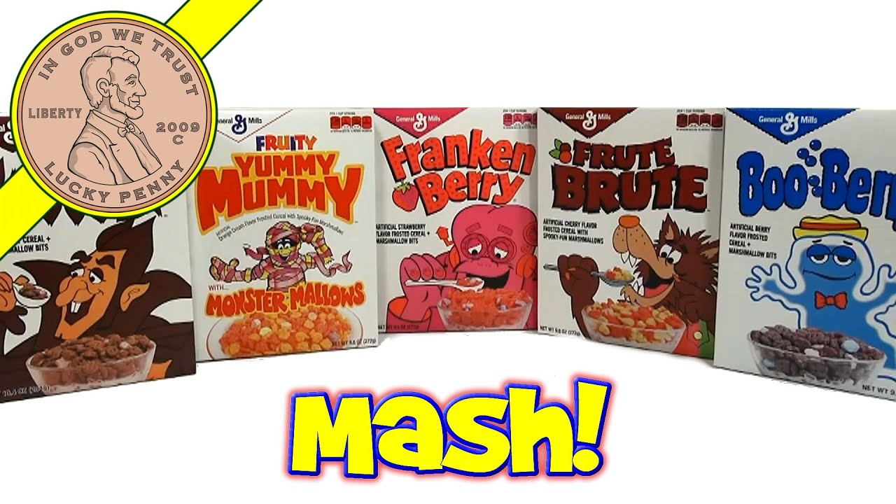 Retro Monster Cereals (Target Exclusive) The Monster Mash ...