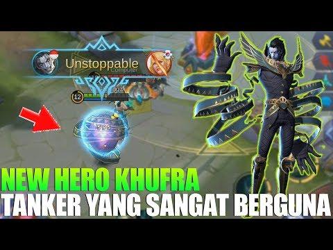 download NEW HERO KHUFRA - TANK SUPER KEREN PUNYA SKILL YANG BERGUNA BANGET BUAT TEAM - MOBILE LEGENDS