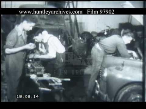 Education In Madagascar, 1950s - Film 97902