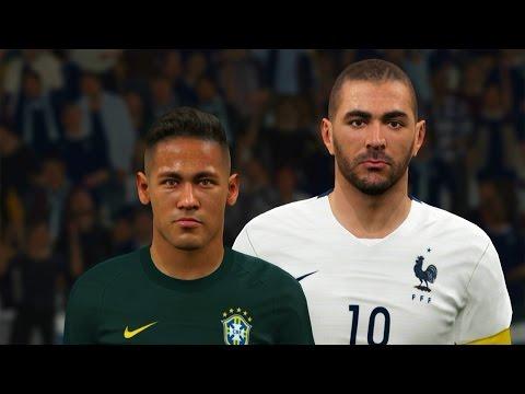 pes-2016---gameplay-neymar-vs-benzema---gols-na-arena-corinthians-(brasil-vs-frança)