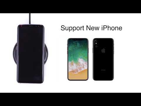 RAVPower's iPhone 8 /8 Plus / X Wireless Charging Pad