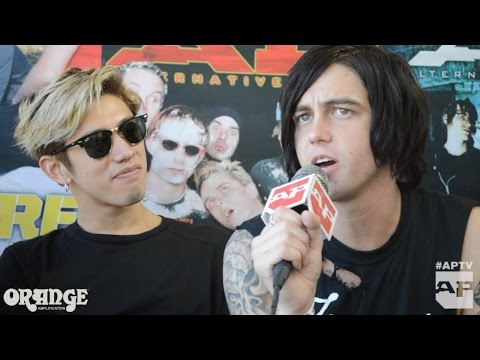 Sleeping With Sirens and One Ok Rock interview