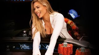 WOW! She's Bombing Pots And 4-Betting - Wild Poker Hands