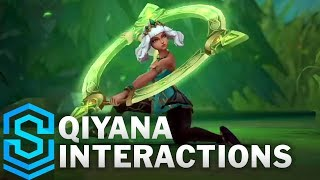 Qiyana Special Interactions