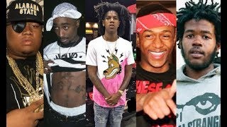 25 Rappers That Died Too Young