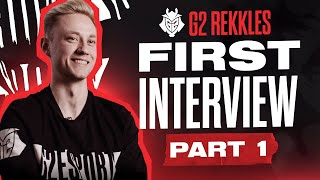G2 Rekkles FIRST Interview: Part 1 - Leaving Fnatic