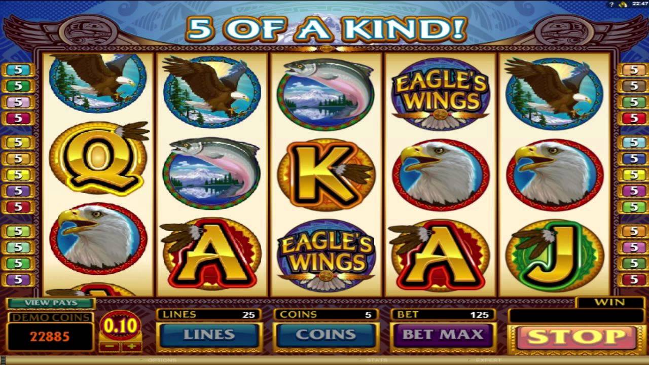 Eagle's Wings Slot Machine Online ᐈ Microgaming Casino Slots
