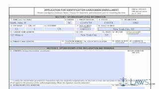 Kimlik Kartı/DD form 1172 Uygulama Nasıl doldurulacağını öğrenmek Kayıt GEYİKLER