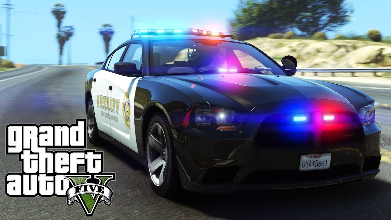 GTA V | Sheriff Replacement Pack - 2013 Charger u0026 Tahoe - ELS Style Lighting - YouTube & GTA V | Sheriff Replacement Pack - 2013 Charger u0026 Tahoe - ELS ... azcodes.com
