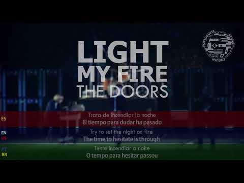 The Doors - Light My Fire SUBTITULADA Inglés Español Portugués