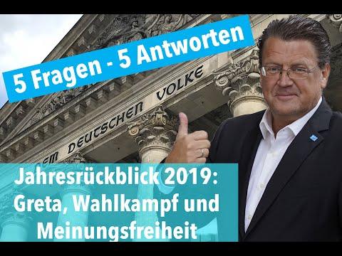 Brandners Jahresrückblick 2019 - Greta, Meinungsfreiheit und Wahlkampf: 5 Fragen und 5 Antworten!