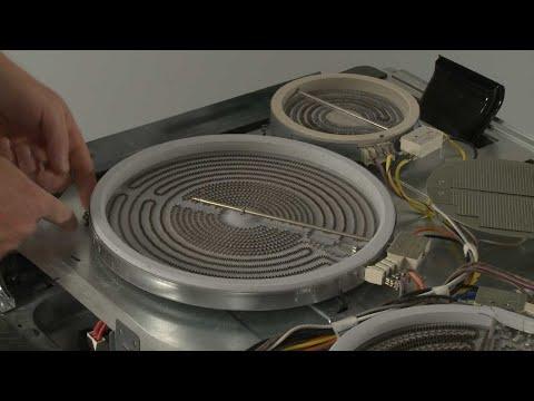 Left Front Radiant Surface Element - Kitchenaid Electric Slide-In Range Model #KSEB900ESS2