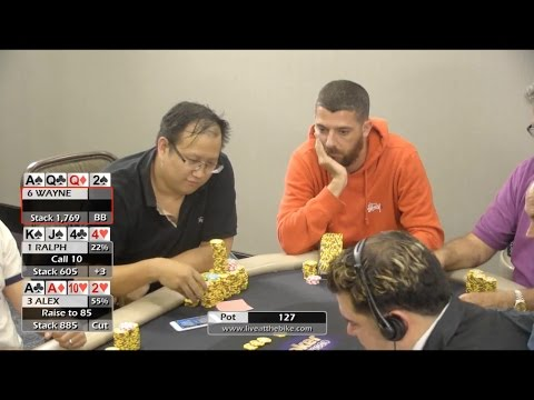 "Live at the Bike $5/$5 PLO - ""Take down $1k or get $2.5k action?"" PokerGo/Poker Central"