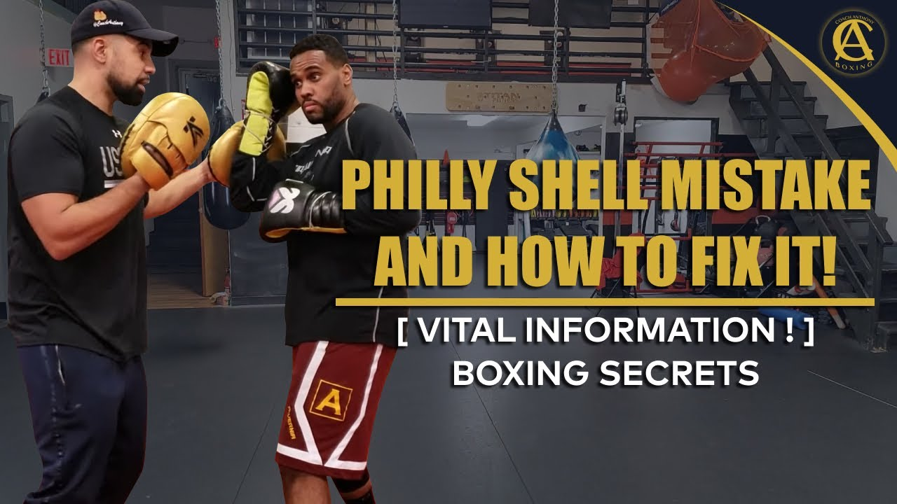 Boxing | Philly Shell Mistake and how to fix it! [ Vital information ! ]