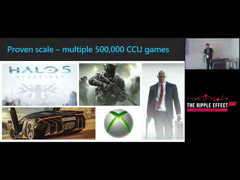 GCAP 2017: Azure Game Services – Make the cloud work for you
