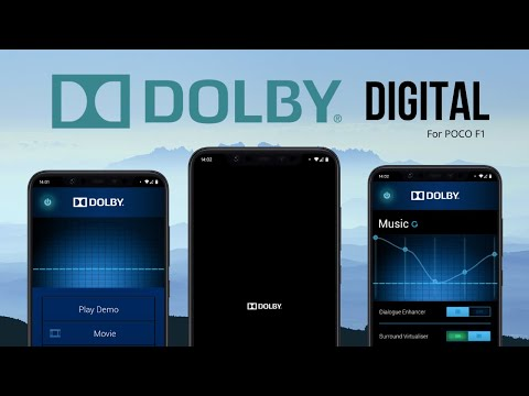 Install DOLBY DIGITAL Sound Mod Ft. POCO F1 | Android 10 | TechitEazy