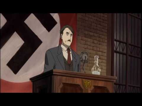 Loituma Girl/Leekspin/Dolly Song - Mein Führer - Hitler Rap Version Nightcore
