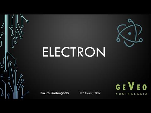 Building Cross Platform Desktop Apps with Electron