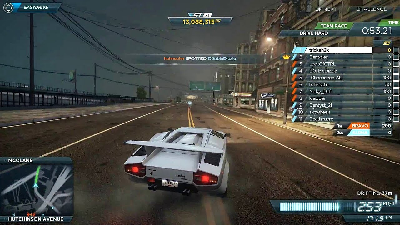 need for speed most wanted online lamborghini countach youtube. Black Bedroom Furniture Sets. Home Design Ideas