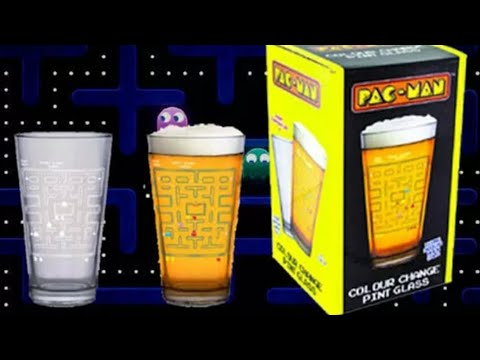 PAC-MAN Colour Changing Glass Review!!!