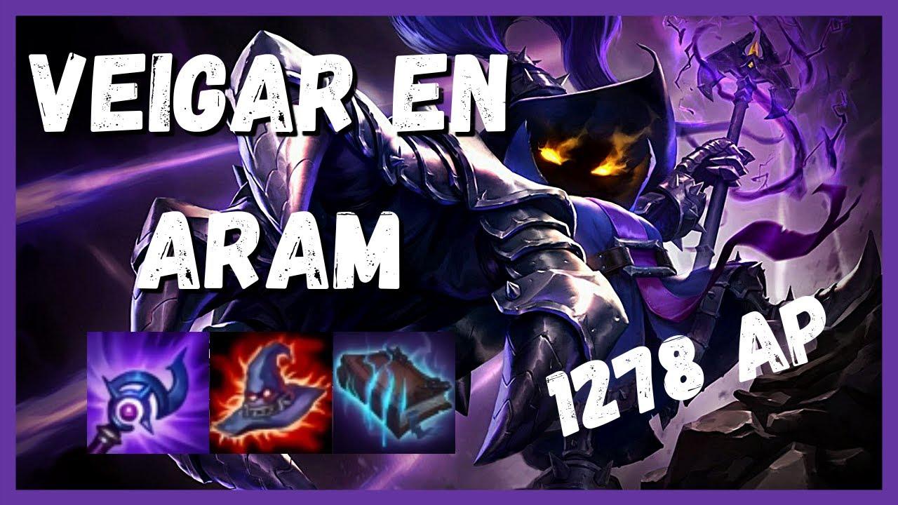 Jugando Veigar En Aram League Of Legends Youtube Xem cách mà veigar trùm cuối né ulti của jinx cực độc. youtube