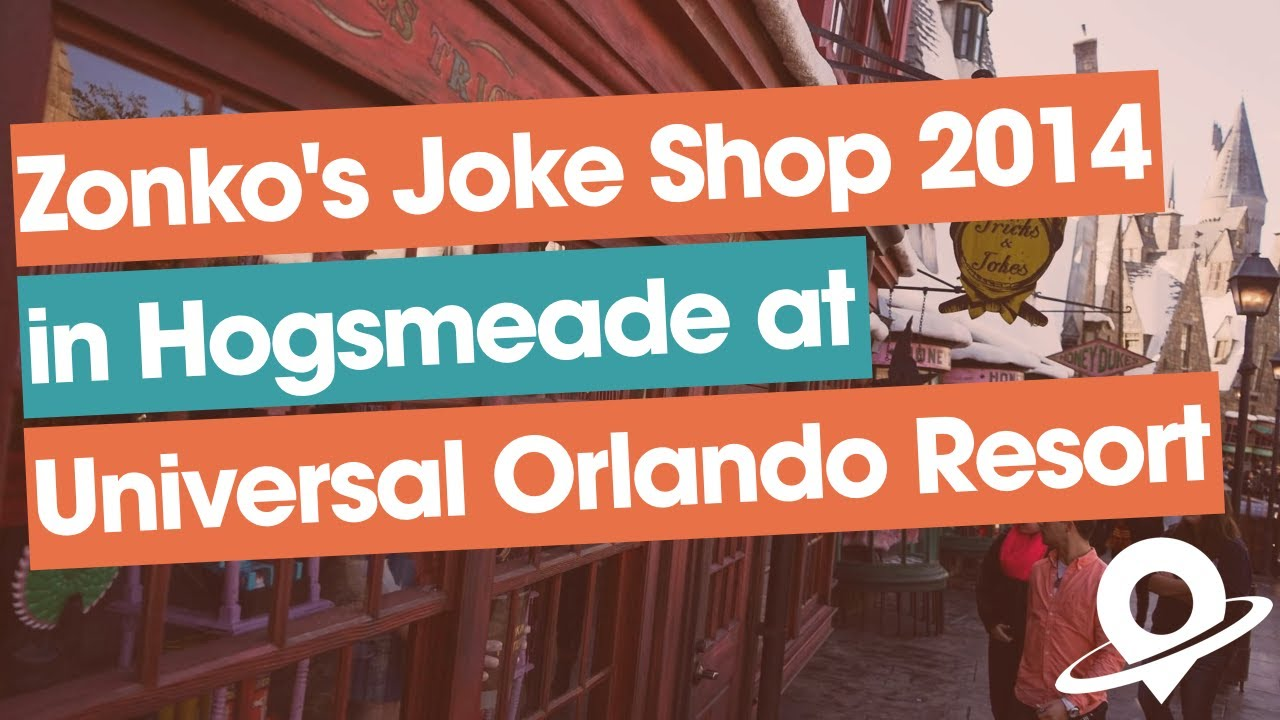 The Online Joke Shop Complete Hd Tour Of Zonko 39s Joke Shop Wizarding World Of