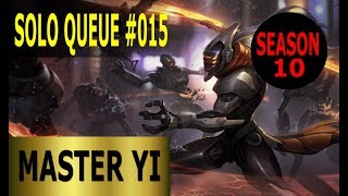 Master Yi Jungle - Full League of Legends Gameplay [Deutsch/German] Solo Queue Ranked Game #015