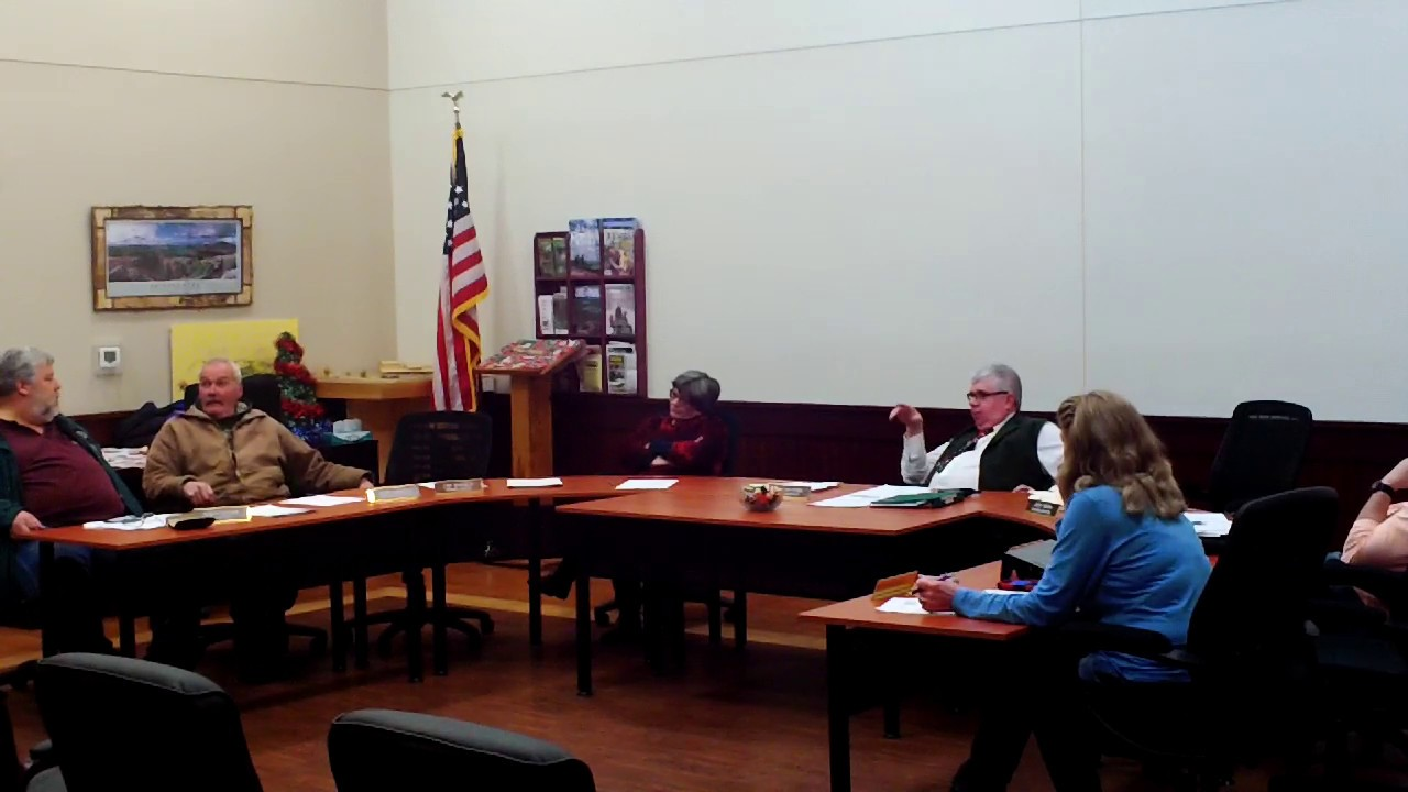 Dannemora Town Board Meeting  12-18-19