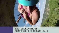 Mon Saut à l'élastique - Viaduc de Saint-Eulalie de Cernon