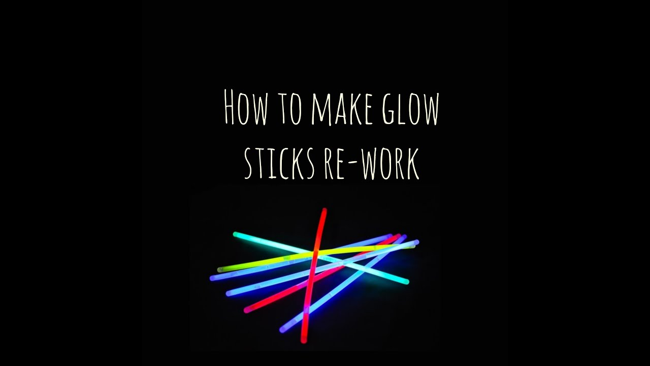 How to make glow sticks with your own hands 94