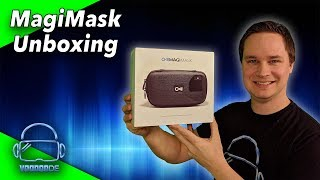 Unboxing MagiMask - The AR/VR headset for less than 100$ [Virtual Reality][Augmented Reality]