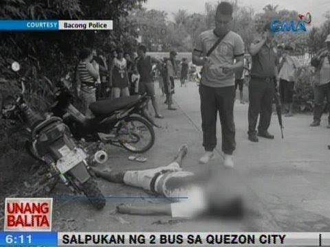 UB: Lalaki, patay matapos pagbabarilin sa harap ng paaralan sa Negros Oriental