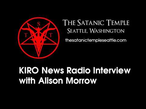 The Satanic Temple: Seattle KIRO News Radio Interview with Reporter Alison Morrow