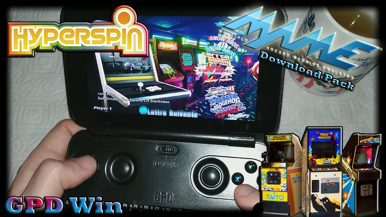 GPD Win (Hyperspin) [MAME Pack] [Download][Update fix Videos]