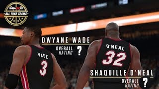 Dwyane Wade And Shaquille O