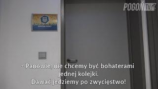 Arka Gdynia 0-3 Pogoń Szczecin 21.10.2016 (KULISY)