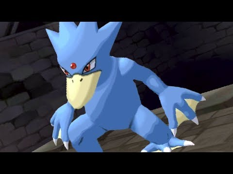 Golduck Swiftly Striking Them Down! -  Pokemon SUN and MOON