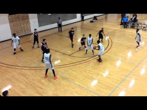 Midland Adventist Academy Basketball 2015 Tournament Game 2 1/8