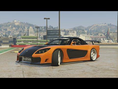 GTA 5 - Tokyo Drift Montage (Han's RX7 Veilside...