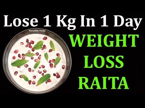 how-to-lose-weight-1kg-in-1-day-|-lose-1-kg-in-a-day-|-weight-loss-raita